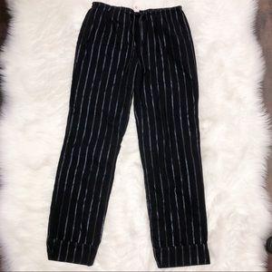Victoria Secret striped sleeping pants L